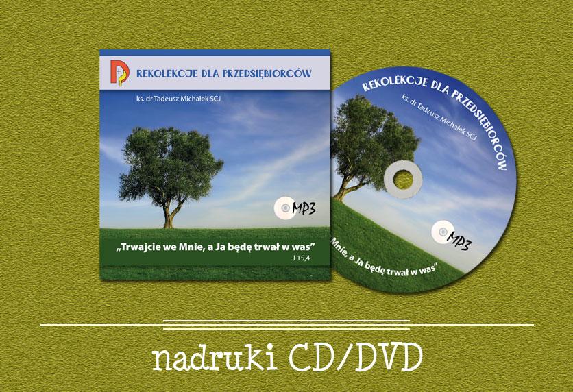 nadruki CD/DVD