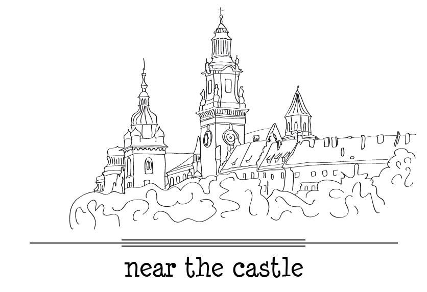 w pobliżu zamku
