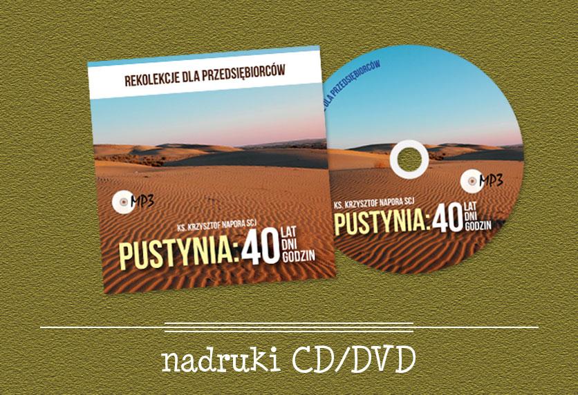 Nadruki na CD